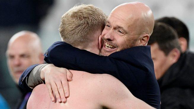 Ten Hag ve «difícil» retener a Van de Beek ante la llamada del Madrid