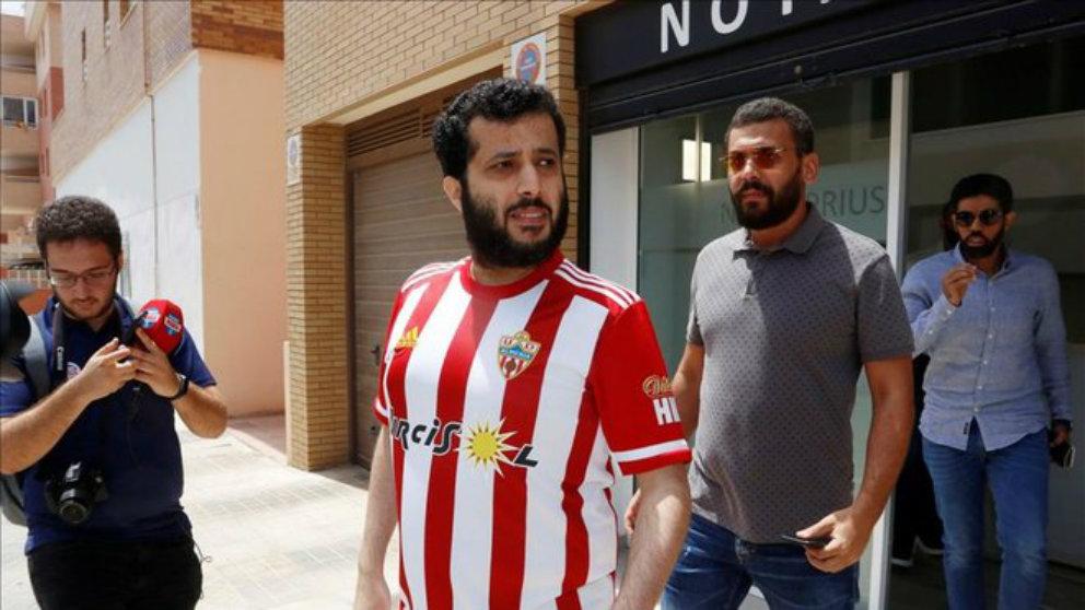 Turki Al-Sheikh, nuevo propietario del Almería (Unión Deportiva Almería)