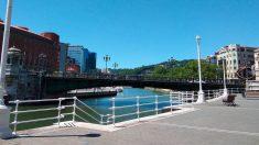 Cielos despejados en Bilbao. Foto: EP