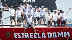El Estrella Damm, campeón de la Copa del Rey de vela.
