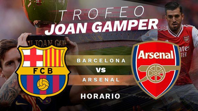 Barcelona – Arsenal: horario y dónde ver el Trofeo Joan Gamper