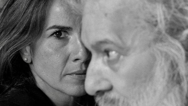 Clara Zamora con el artista Miguel Ángel Campano @Alberto García Alix