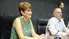 La portavoz de EH Bildu en el Parlamento de Navarra, Bakartxo Ruiz @EP