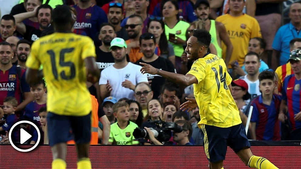Barcelona – Arsenal: resumen del Trofeo Joan Gamper (2-1).