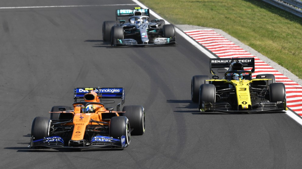 Clasificación del Mundial de F1: resultados del GP de Hungría de F1. (AFP)