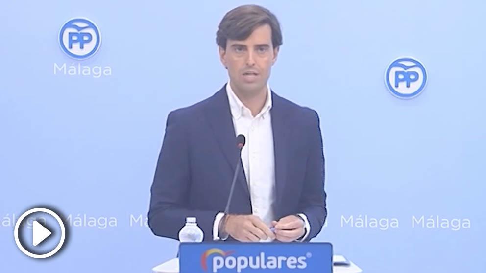 El vicesecretario de Comunicación del Partido Popular, Pablo Montesinos. (Foto: Europa Press)