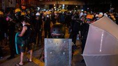 La ciudad de Hong Kong se ha visto sacudida por meses de protestas que comenzaron en rechazo a un proyecto de ley para permitir que las personas sean extraditadas para ser juzgadas en la China continental. Foto: EP