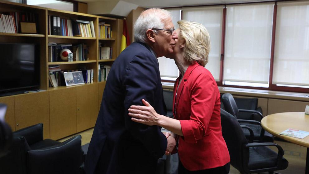 Josep Borrell y Ursula von der Leyen (Foto: EP)