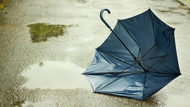 bolso tela de un paraguas
