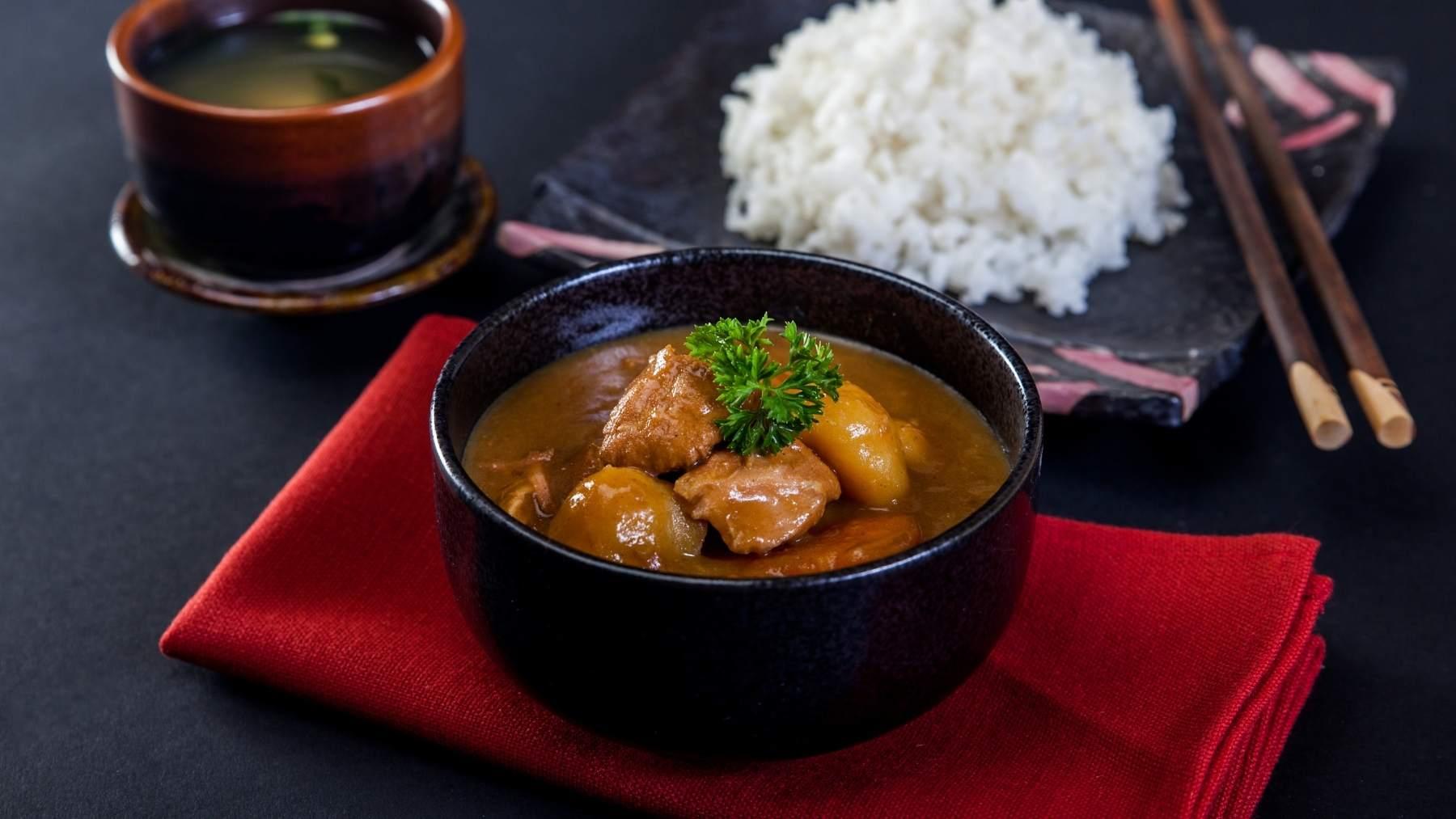 Receta de curry japonés