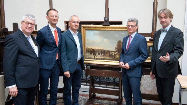 Los descendientes de un matrimonio judío recuperan nueve obras de arte robadas por los nazis