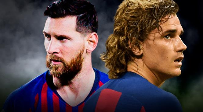 Messi y Griezmann, dos cracks que no terminan de encajar.