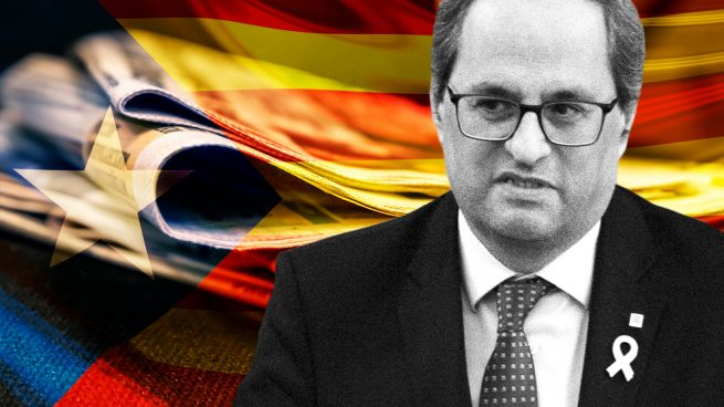Torra subvenciona los periódicos en catalán