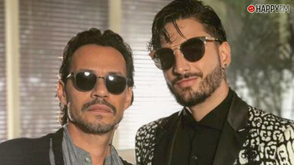 Plantilla Maluma y Marc Anthony