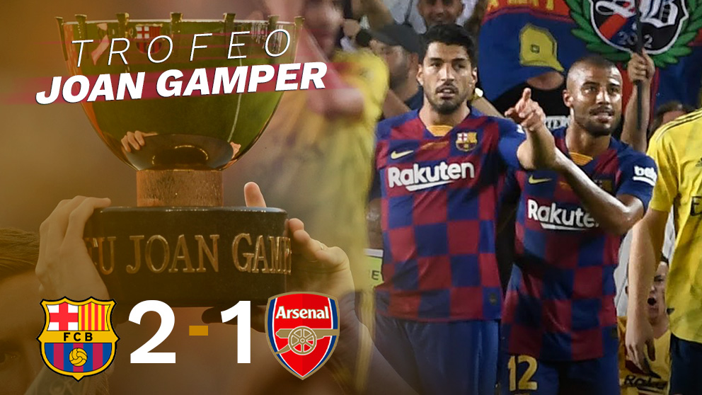El Barça remontó ante el Arsenal.