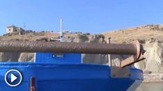 Una embarcación de migrantes consigue llegar a una playa siciliana sin ser interceptada