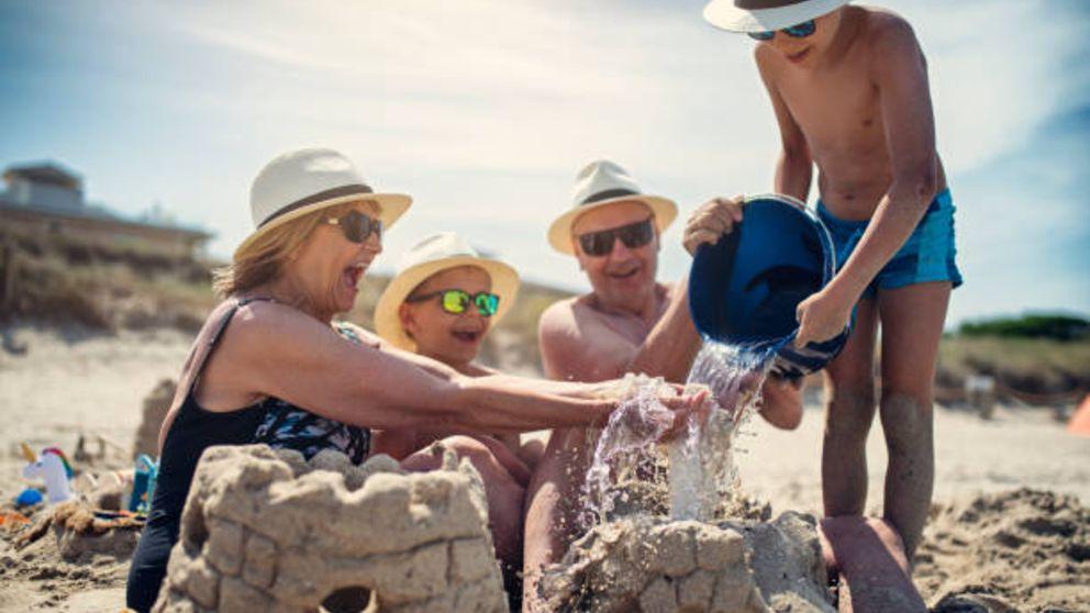 Aprende cóm hacer castillos de arena en la playa