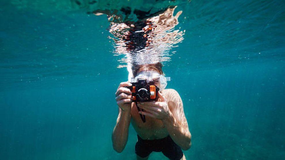 Todos los pasos para hacer fotos debajo del agua