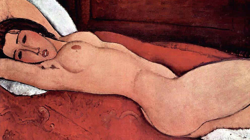 'Desnudo de mujer', Modigliani. @Getty