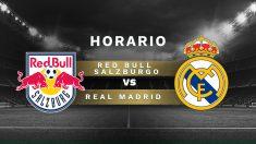 Red Bull Salzburgo – Real Madrid.