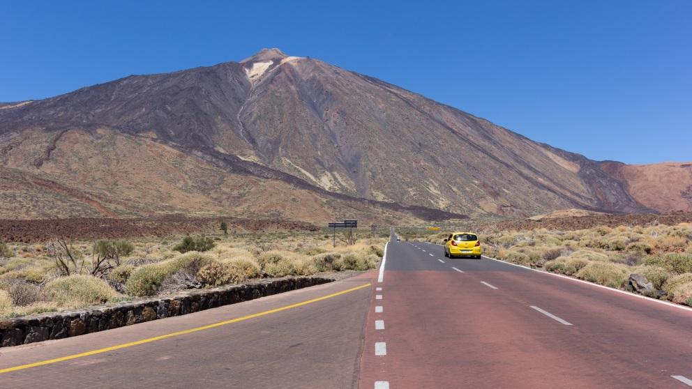 El Teide es la montaña a más altura en nuestro país