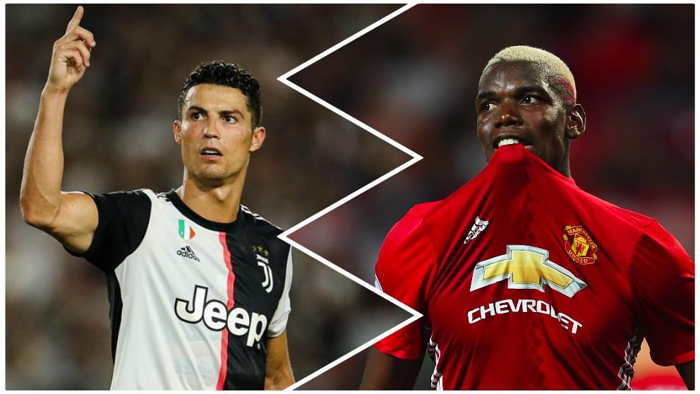Cristiano Ronaldo puede ser determinante en el futuro de Pogba.