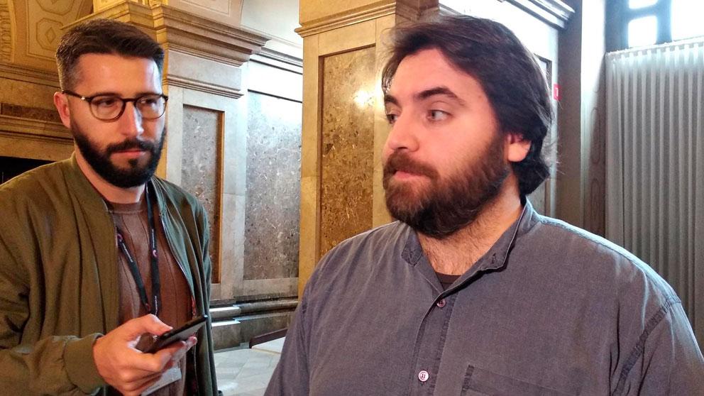 El portavoz adjunto del PSC-Units en el Parlament, Ferran Pedret. Foto: EP
