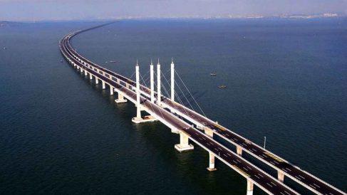 El puente más largo del mundo está en China y mide más de 150 kilómetros