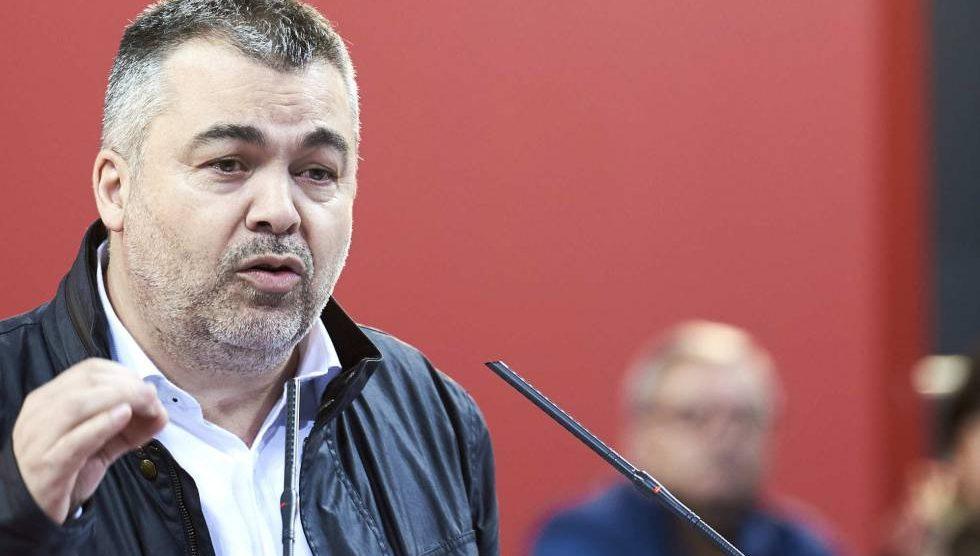 Santos Cerdán es actualmente el Coordinador Ejecutivo de Coordinación Territorial del PSOE.