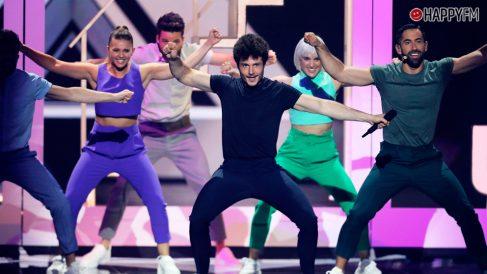 Miki en 'Eurovisión 2019'