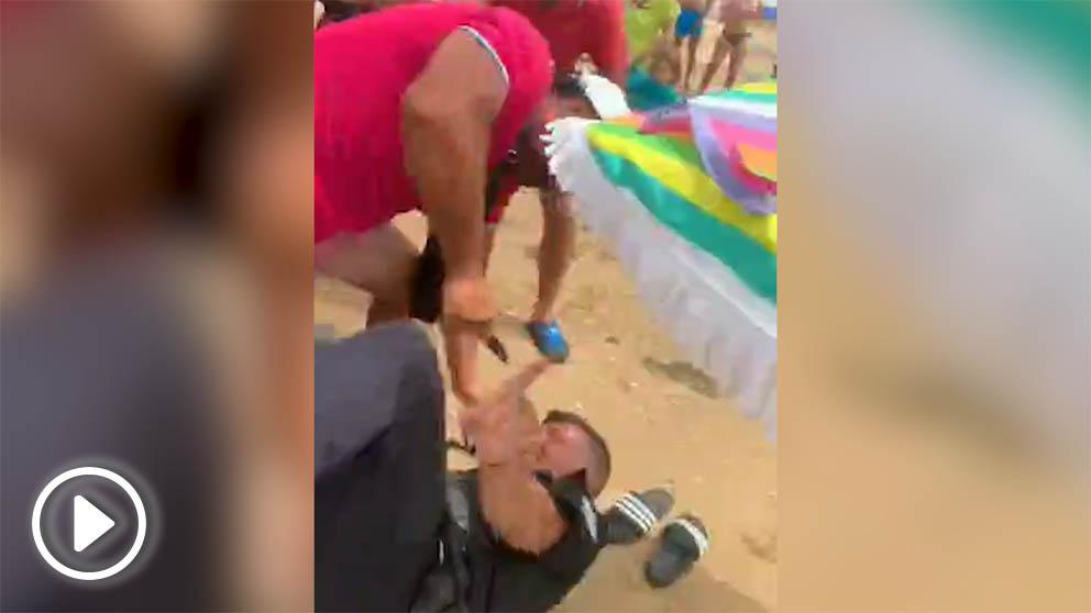 Ataque al jefe de Policía Local de Punta Umbría.