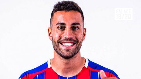 Víctor Camarasa, nuevo jugador del Crystal Palace (@CPFC)