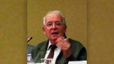 Luis Ruiz de Gopegui, el físico español que contribuyó desde la estación de seguimiento de Fresnedilla de la Oliva (Madrid).