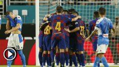 Barcelona – Nápoles: resumen del partido amistoso (2-1).