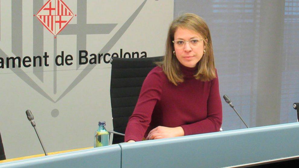 La segunda teniente de alcalde de Barcelona, Janet Sanz. Foto: EP