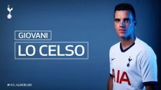 Lo Celso, nuevo jugador del Tottenham.