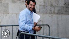 Matteo Salvini, viceprimer ministro del Interior de Italia (RRSS).