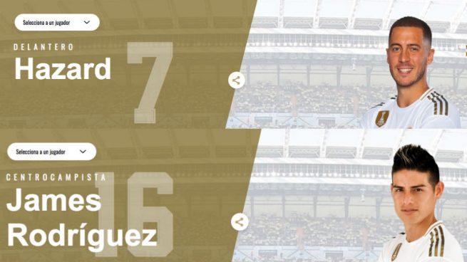 Dorsales Real Madrid