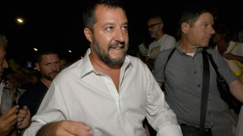 Matteo Salvini, dirigente del partido político La Liga de Italia. Foto: EP