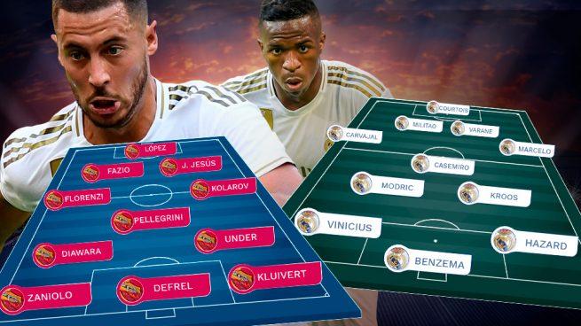 Roma – Real Madrid: última prueba antes de la Liga