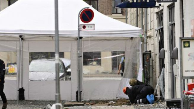 Una explosión en una comisaría de Policía sacude de nuevo la ciudad de Copenhague