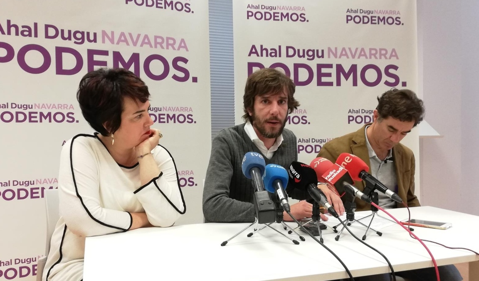Podemos Navarra (Europa Press)
