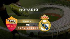 Roma – Real Madrid: horario y dónde ver el partido amistoso.