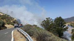 Incendio en Gran Canaria. Foto: Europa Press