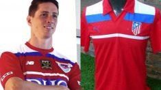La camiseta homenaje al Atlético de Madrid que Fernando Torres ha diseñado para retirarse en el Sagan Tosu.