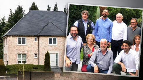 Carles Puigdemont, Valtonyc, lluís Puig, Cuevillas, Jon Iñarritu, Rahola, Matamala y Puigneró.