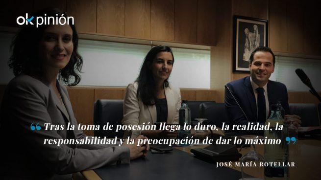 Investidura en la Comunidad de Madrid