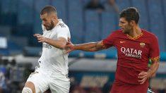 Roma – Real Madrid: partido amistoso, en directo