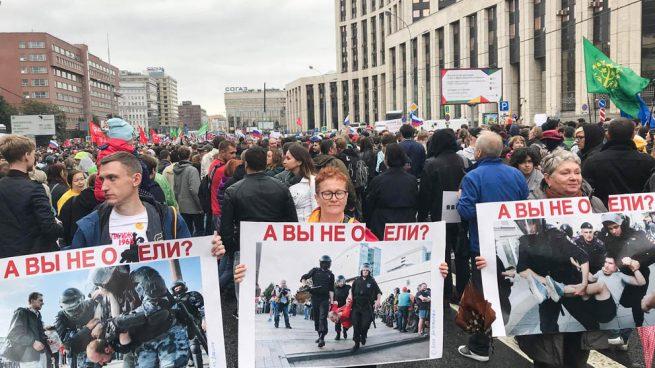 Rusia advierte a Google para que deje de aceptar alertas de pago sobre «eventos ilegales» de la oposición
