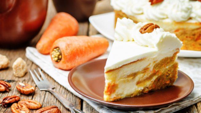 Receta de cheesecake de zanahoria